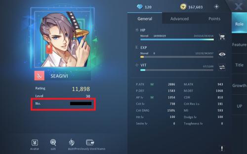how to dragon raja user id