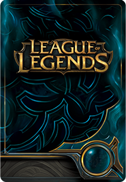 League of Legends RP Card